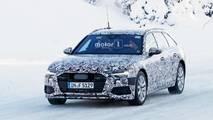 Audi A6 Avant - kémfotók a beltérről