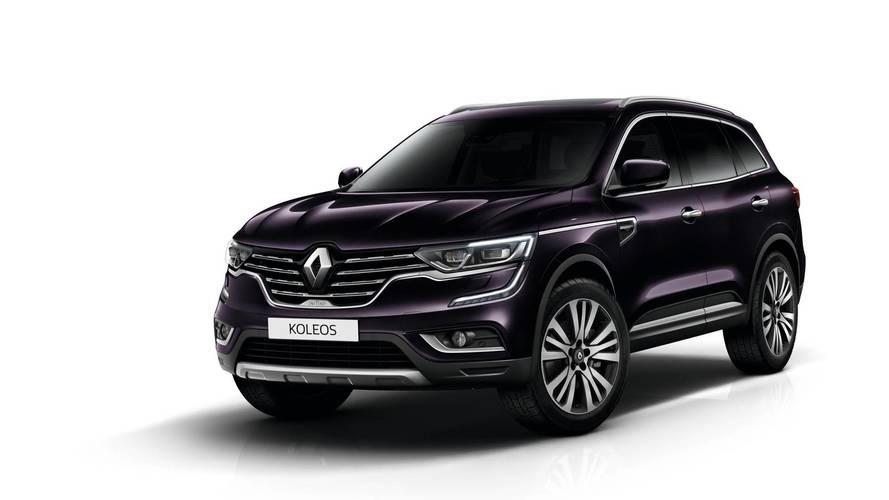 Range-topping Renault Koleos SUV trim goes on sale