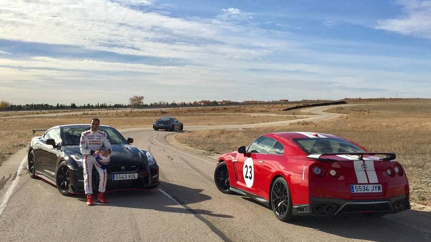 Nissan GT-R NISMO 2018 y Marc Gené