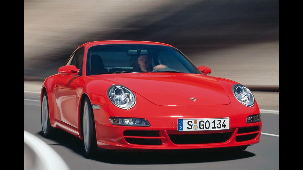 Sportwagen / Cabrios, 2. Platz: Porsche 911
