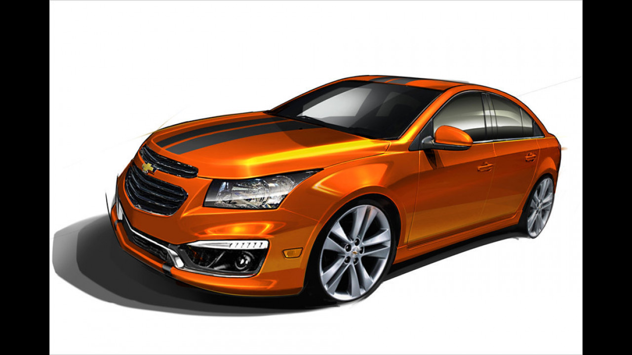 Chevrolet Cruze RS Plus Concept