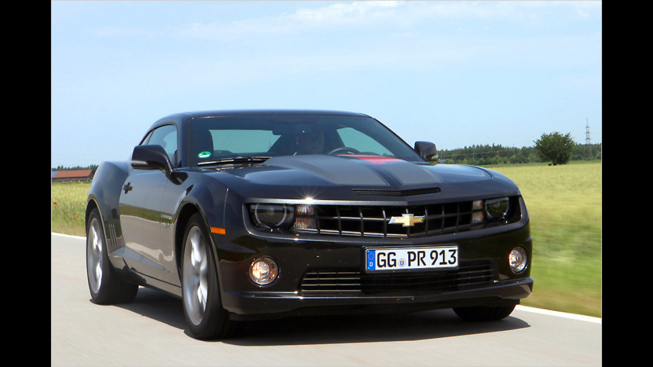 Muscle Car mit Handicap