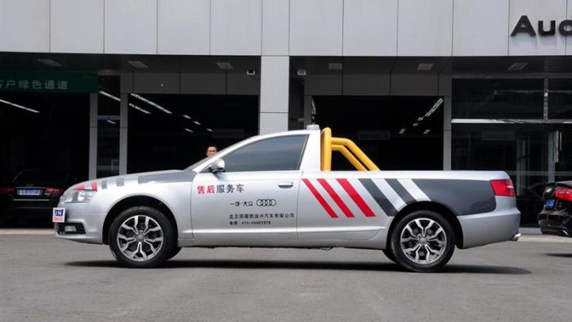 Китайский пикап Audi A6