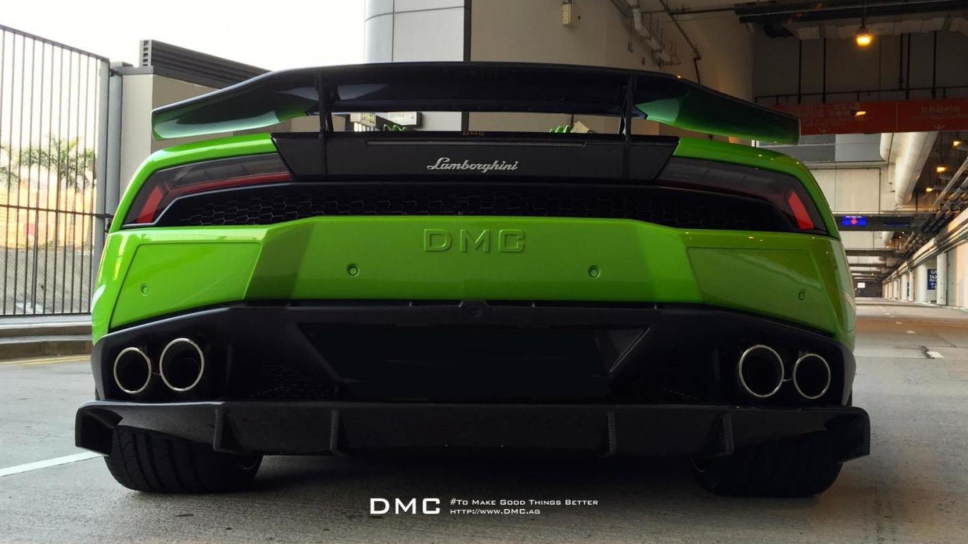 Диффузор Lamborghini Huracan Affari от DMC Tuning