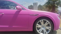 Bentley Flying Spur for Breast Cancer Awareness Month