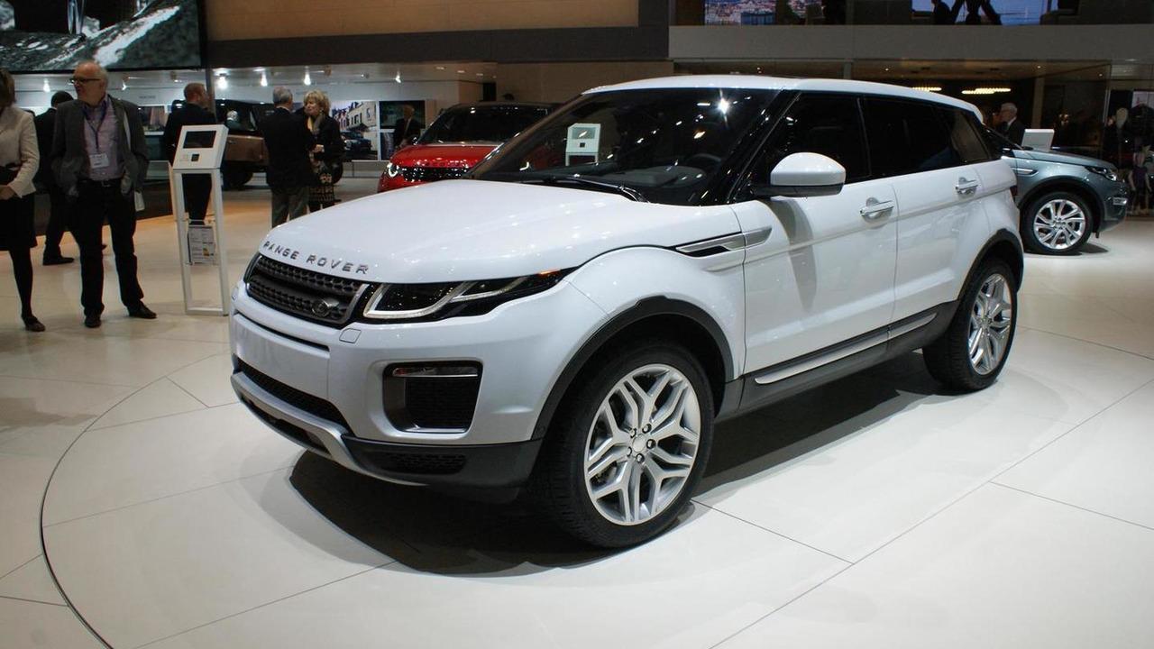 Range Rover Evoque facelift at 2015 Geneva Motor Show