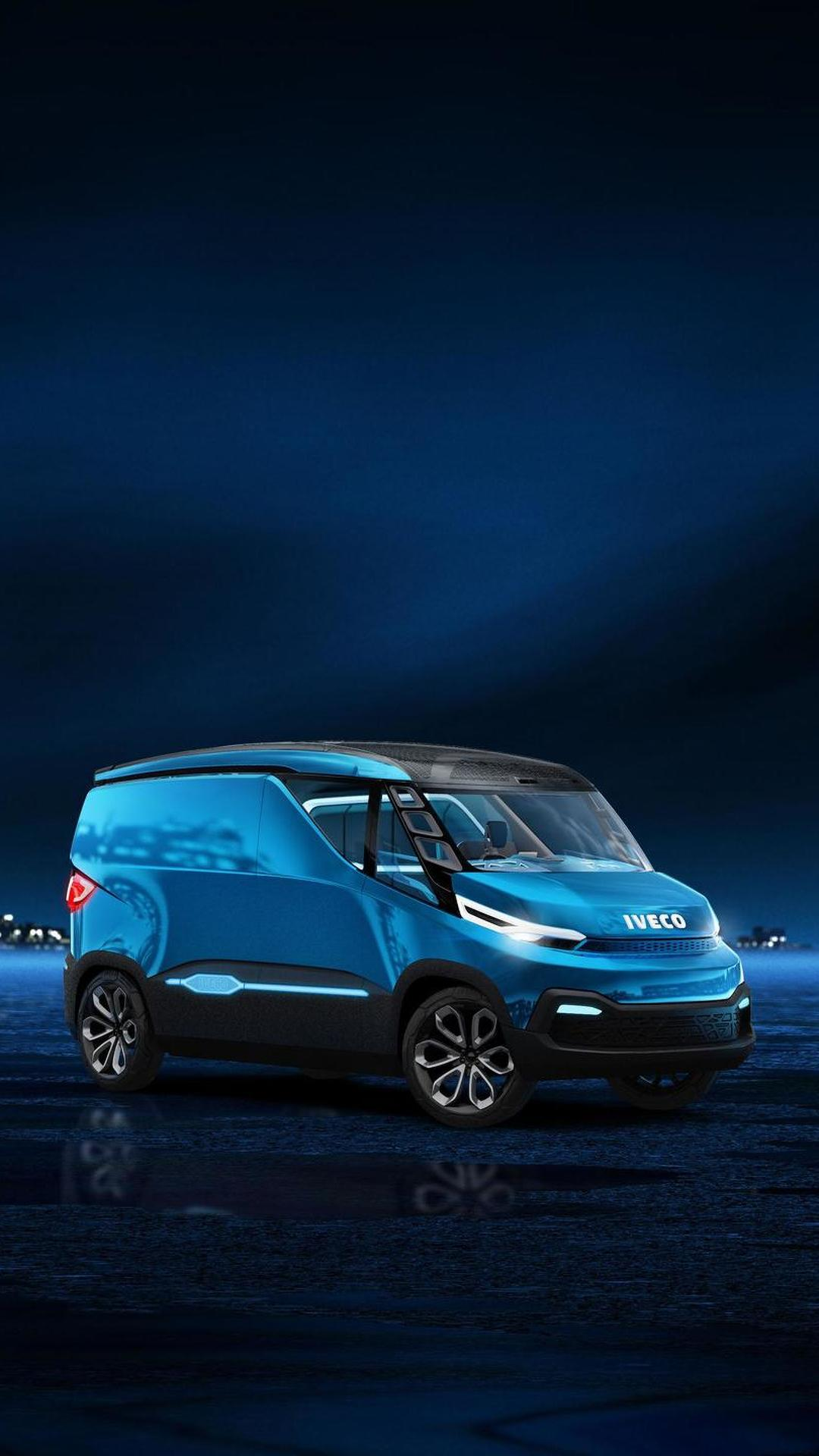 Фантастический фургон Iveco Vision