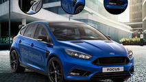 2016 Ford Focus RS rendering