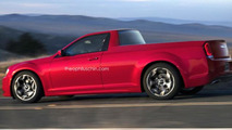 Chrysler 300 Utility Coupe render