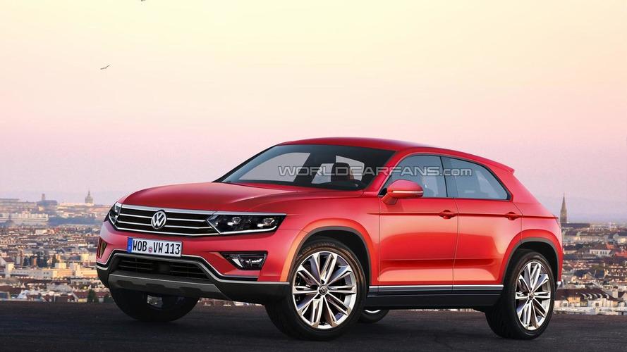 Volkswagen Tiguan CC rendered, could arrive in 2016