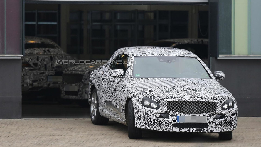 2016 Mercedes C-Class Cabrio spied at the company's technical center