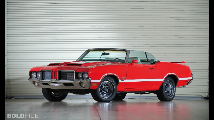 Oldsmobile Cutlass Supreme 442 Convertible