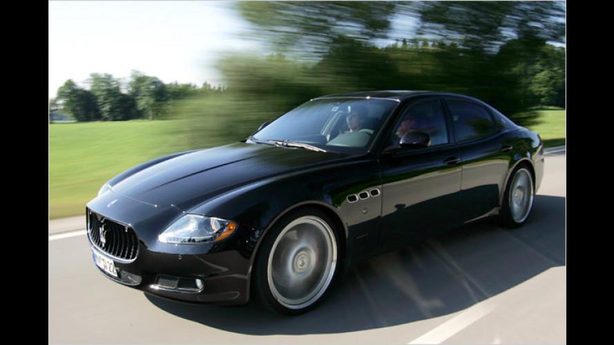 Fast 600 PS im Maserati Quattroporte von Novitec Tridente