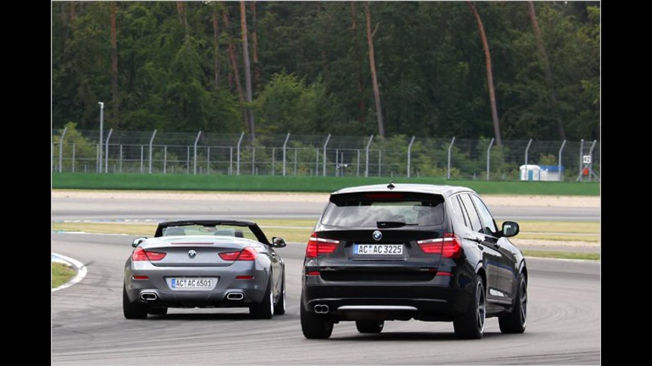 AC Schnitzer BMW 650i Cabrio und X3 xDrive20d