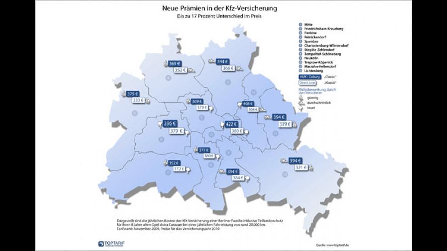 Kfz-Versicherung: Weg von den Regionalklassen?