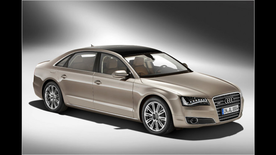 Audi streckt den A8 zur Langversion