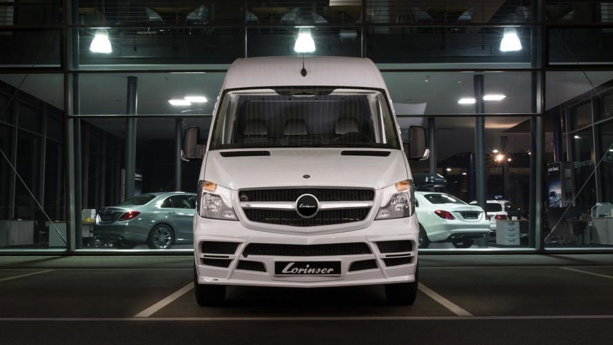 Mercedes-Benz Sprinter Gets Widebody Kit From German Tuner
