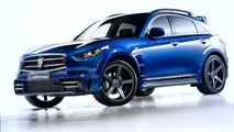 Infiniti QX70 gets new clothing from LARTE Design