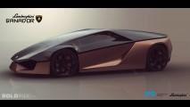 Lamborghini Ganador Concept by Mohammad Hossein Amini Yekta