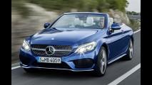 Mercedes yeni C Class Cabriolet'nin örtüsünü indirdi