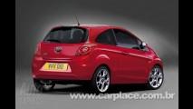 Novo Ford Ka europeu - Revista inglesa mostra fotos da 2º geração do compacto
