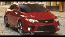 Vídeo: Comercial mostra o Novo Kia Forte Koup 2010 em ação - Esportivo tem motor de até 173cv