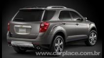 Parece o Captiva: Chevrolet revela o novo Crossover Equinox 2010