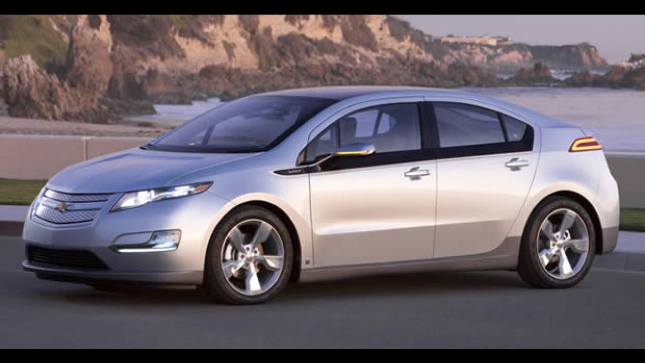 Chevrolet Volt terá consumo de até 97,7 km/litro - GM espera lançar 25 novos carros até 2011
