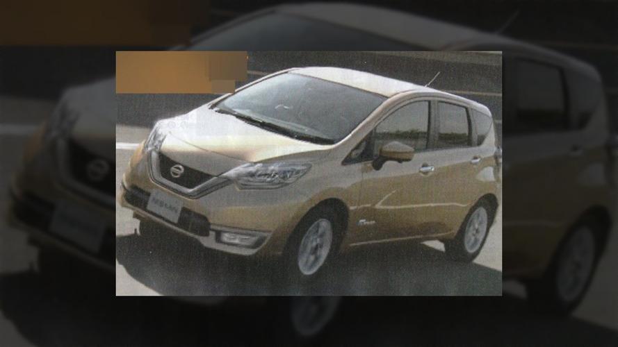 2017 Nissan Note'un yenilenmiş görüntüleri sızdı