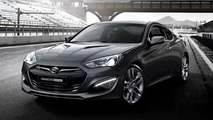 2012 Hyundai Genesis Coupe first official images - 11.11.2011