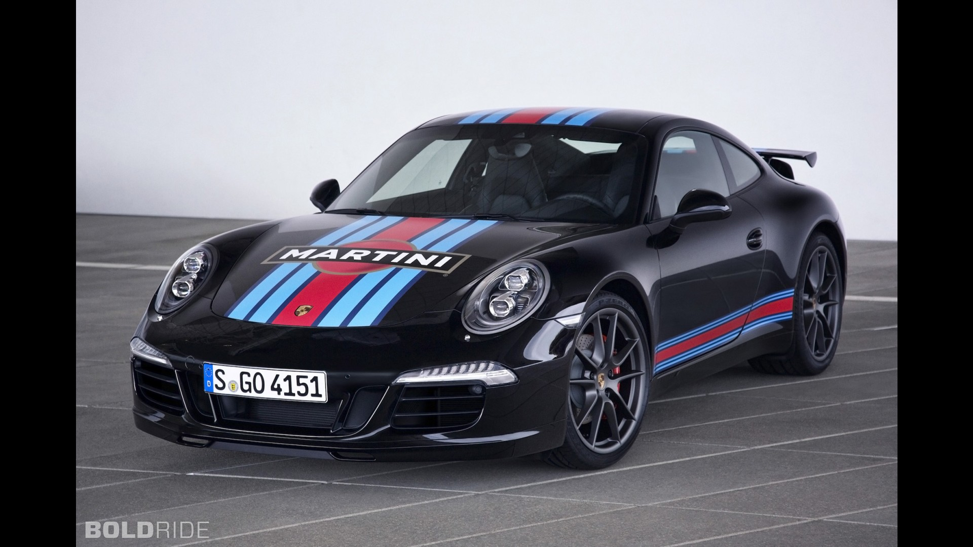 Фото | Porsche 911 Carrera S Martini Racing Edition