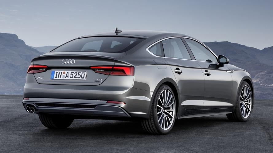 Audi A5 et S5 Sportback 2018