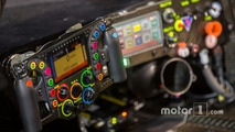 Cockpit of the #14 Porsche Team Porsche 919 Hybrid