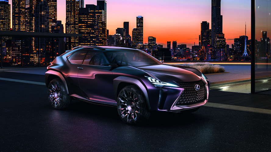 Lexus UX concept SUV approved for production