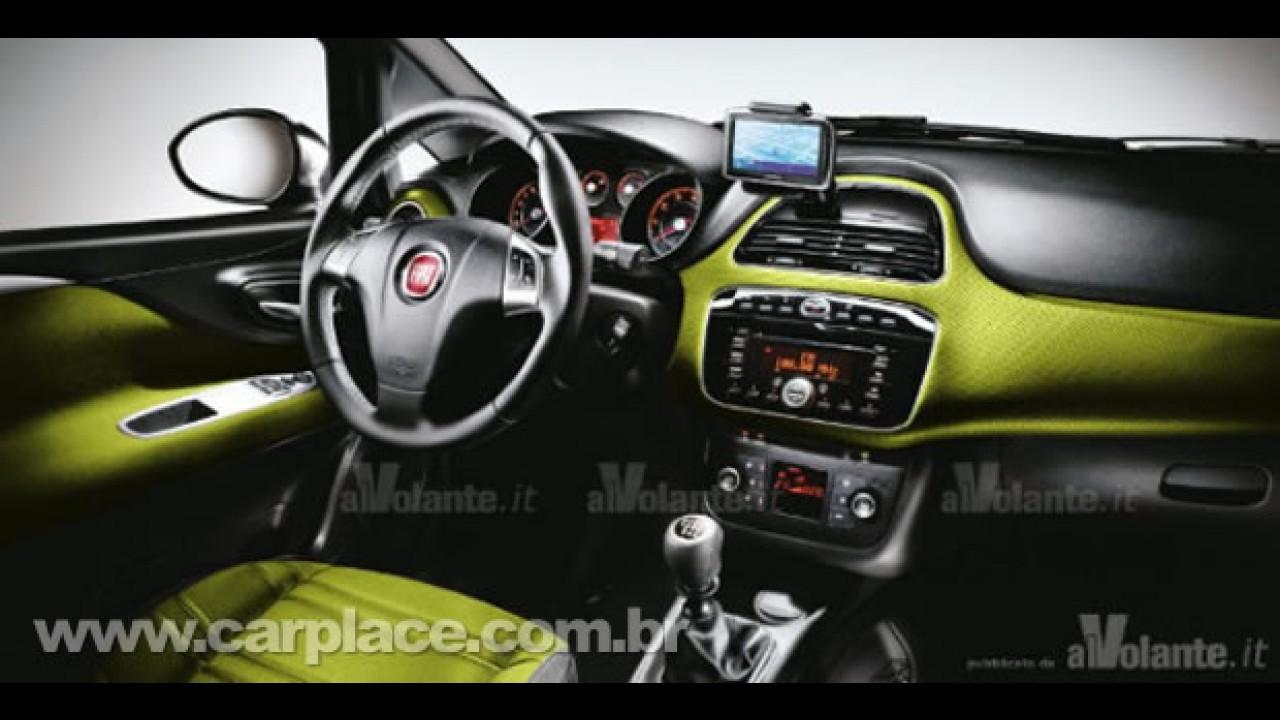 Novo Fiat Punto Evo 2011 - Site italiano divulga fotos do modelo reestilizado - Serão oficiais?