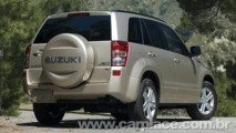 Suzuki volta ao Brasil com o Novo Grand Vitara - Preço inicial é de R$ 89.700
