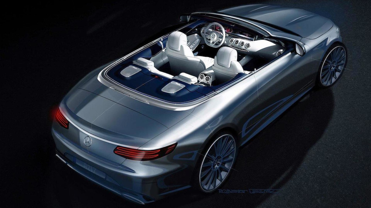 2016 Mercedes-Benz S-Class Cabriolet official render