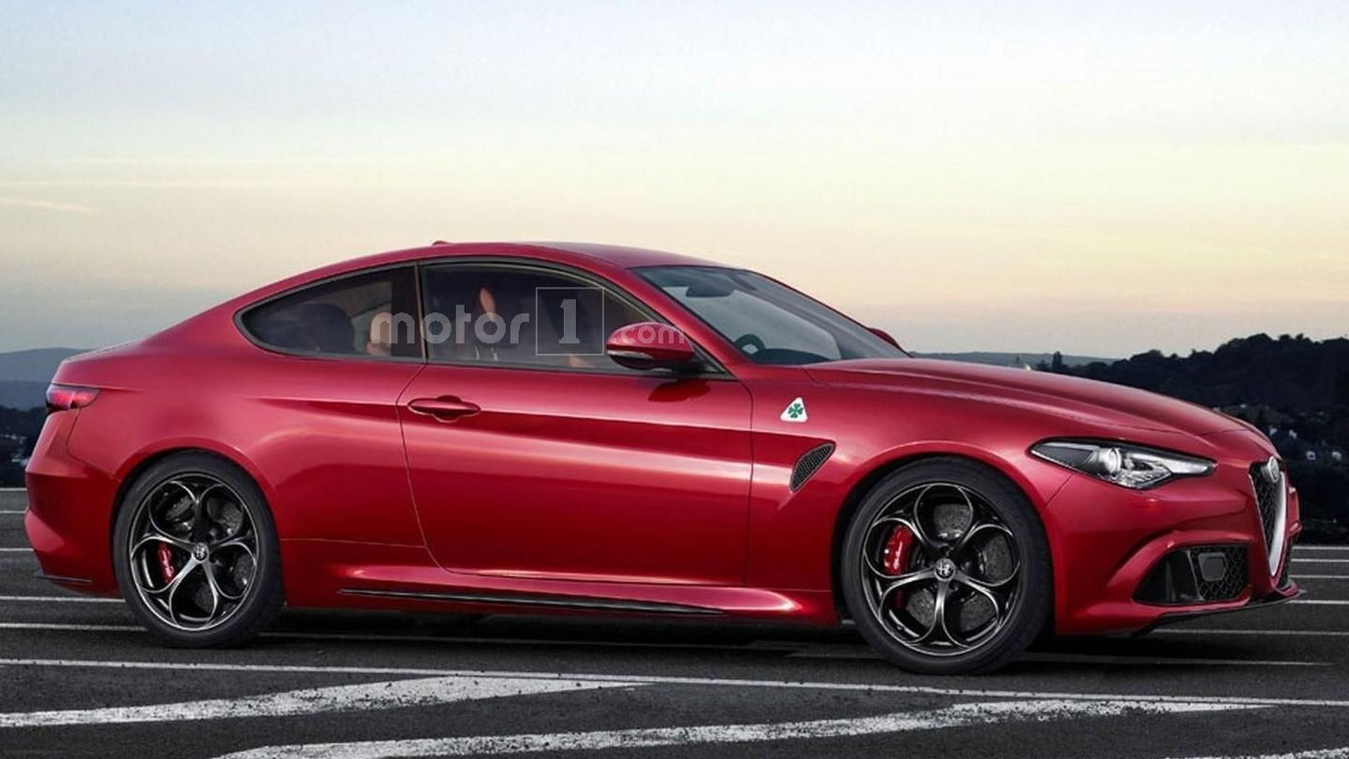 Alfa Romeo Giulia Coupe Quadrifoglio Is Only A Speculative