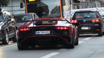 This Lamborghini Aventador SV in Monaco is actually available as a rental [video]