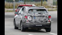 BMW Grand X1 o X2, foto spia del nuovo crossover 7 posti