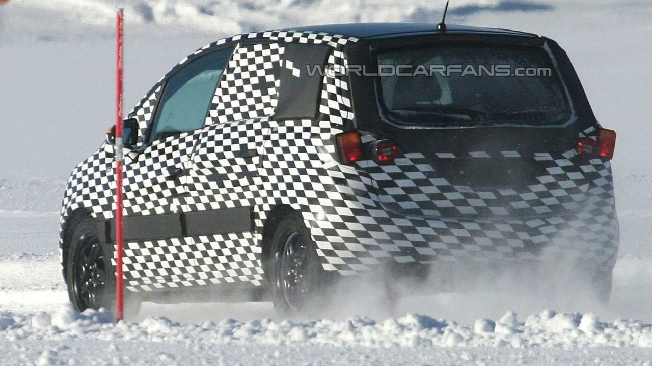 Opel Meriva Spy Photo