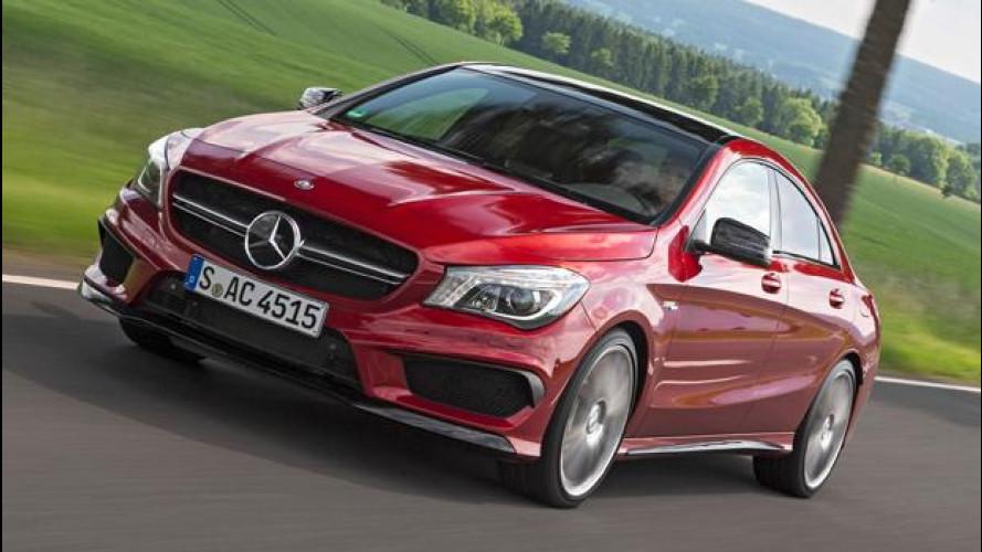 Mercedes-AMG CLA, CLA Shooting Brake e GLA 45, i cavalli galoppano