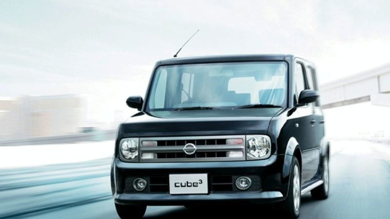 Japanese-marketed Nissan Cube