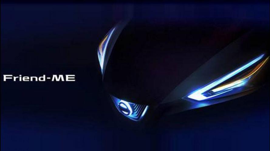 Nissan Friend-ME, il futuro dell'auto visto dalla Cina