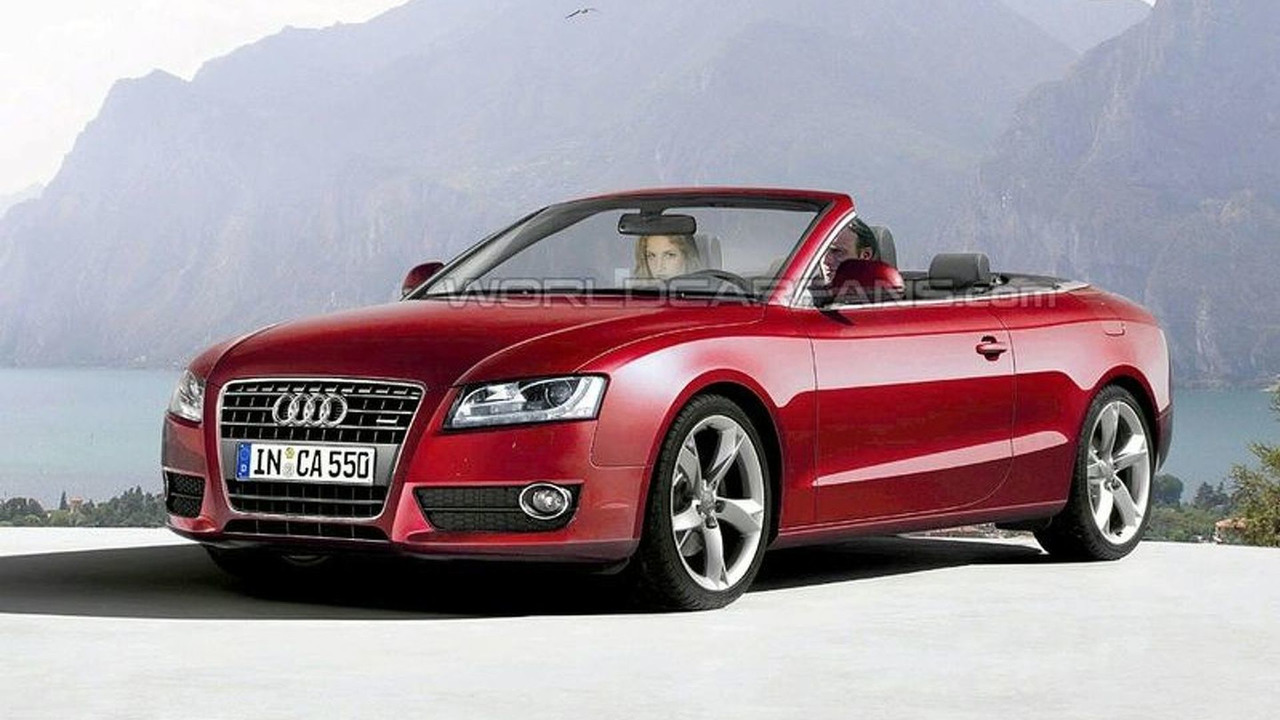 Artist impression: Audi A5 Cabrio