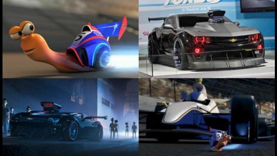 "Chevrolet e Dreamworks insieme per ""Turbo"""