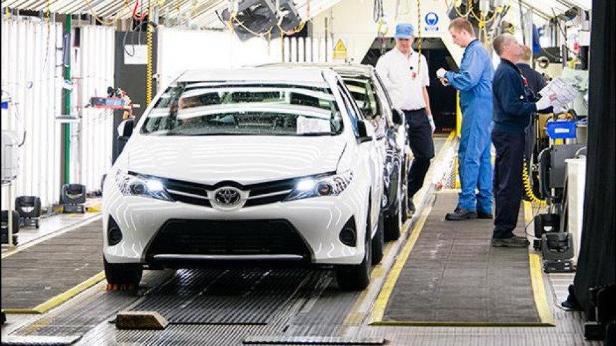 Toyota resta leader mondiale, è il quarto anno di fila