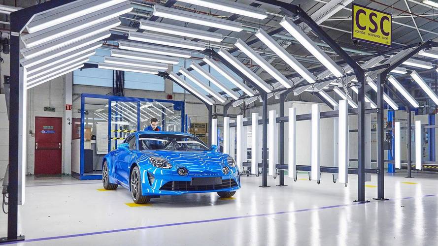 L'Alpine A110 entre officiellement en production !