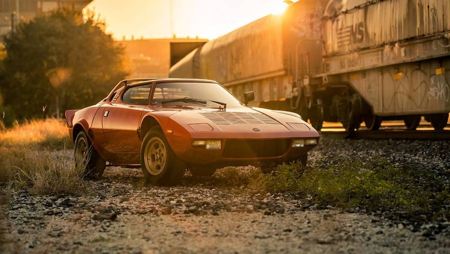 Cette superbe Lancia Stratos HF Stradale cherche preneur !
