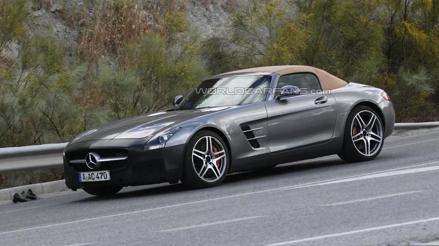 2015 Mercedes-Benz SLS AMG GT Roadster spied